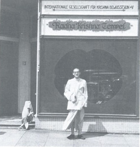 Srila Prabhupada in Germany