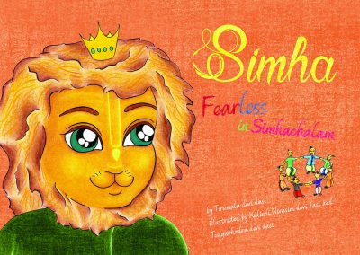Simha Fearless. Book Cover.indd